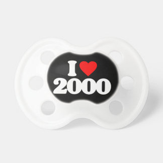 I LOVE 2000 PACIFIERS