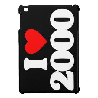 I LOVE 2000 iPad MINI COVERS