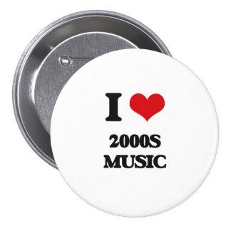 I Love 2000S MUSIC Pins