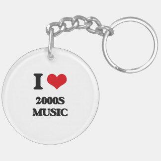 I Love 2000S MUSIC Acrylic Keychain