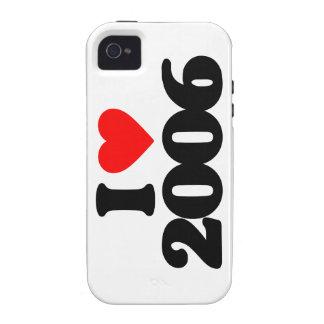 I LOVE 2006 Case-Mate iPhone 4 COVER