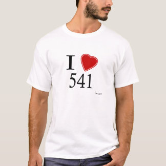 I Love 541 Eugene T-Shirt