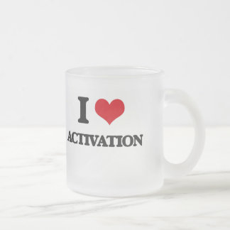 I Love Activation Coffee Mugs