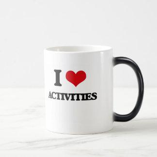 I Love Activities Coffee Mug