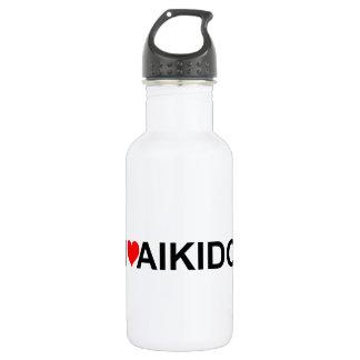 I Love Aikido 532 Ml Water Bottle