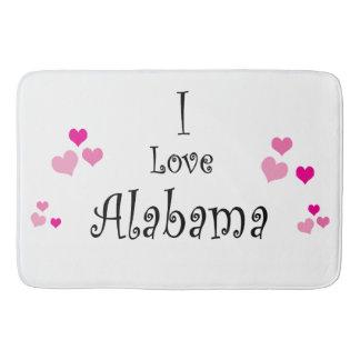 I Love Alabama Bath Mat