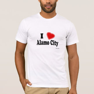 I Love Alamo City T-Shirt