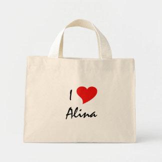 I Love Alina IV Tote Bag