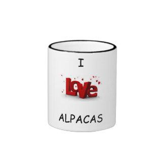 I Love Alpaca Mug