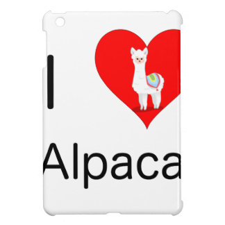 I love alpacas iPad mini case