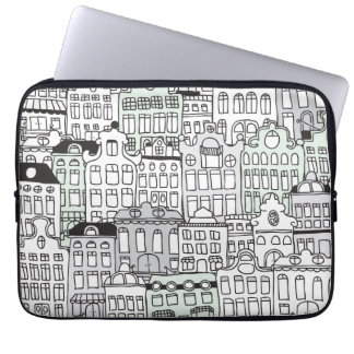 I love amsterdam dutch icon laptop sleeve