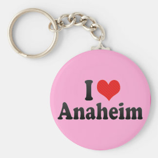 I Love Anaheim Key Ring