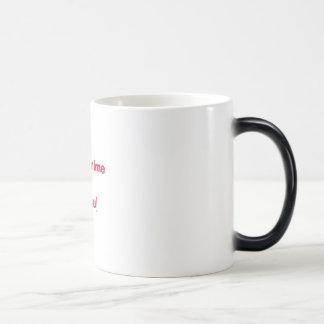 I love anime[otaku] morphing mug