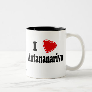 I Love Antananarivo Two-Tone Coffee Mug