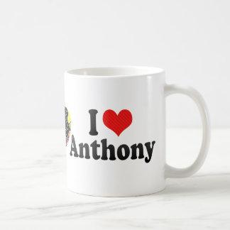 I Love Anthony Coffee Mug