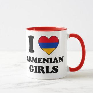 I love Armenian Girls Mug