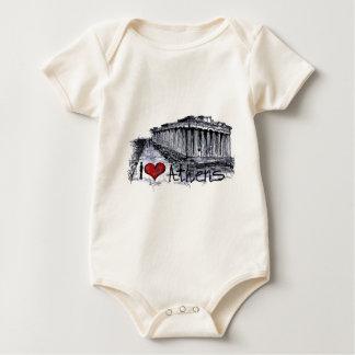 I love Athens Baby Bodysuit