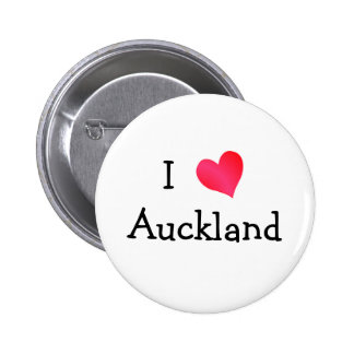 I Love Auckland Buttons