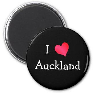 I Love Auckland Refrigerator Magnet