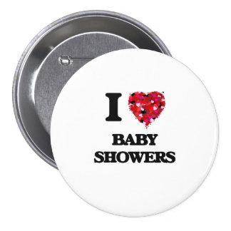 I love Baby Showers 7.5 Cm Round Badge