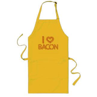 I Love Bacon Long Apron