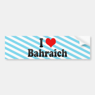 I Love Bahraich, India Bumper Sticker