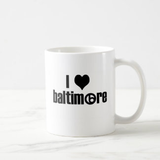 I Love Baltimore Coffee Mug