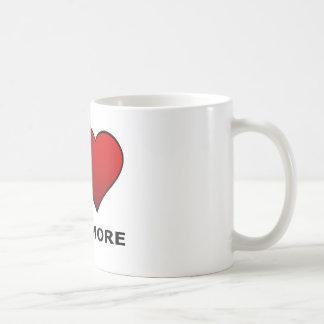 I LOVE BALTIMORE,MD - MARYLAND COFFEE MUG