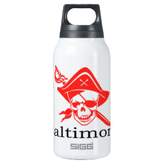 I love Baltimore Pirate Insulated Water Bottle