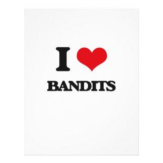 I love Bandits Flyer Design