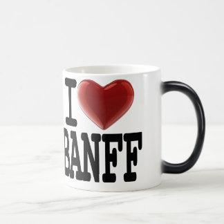 I Love BANFF Magic Mug