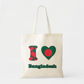 I love Bangladesh Tote Bag
