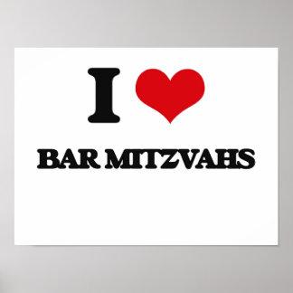 I Love Bar Mitzvahs Print