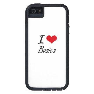 I Love Basics Artistic Design iPhone 5 Cover