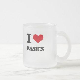 I Love Basics Coffee Mug