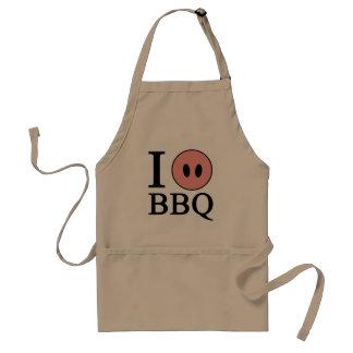 I Love BBQ Standard Apron