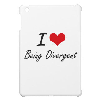 I Love Being Divergent Artistic Design Case For The iPad Mini