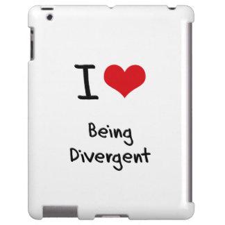 I Love Being Divergent iPad Case