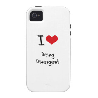 I Love Being Divergent iPhone 4/4S Cover