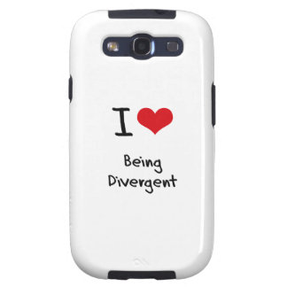 I Love Being Divergent Galaxy SIII Cases
