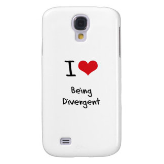 I Love Being Divergent Galaxy S4 Cases