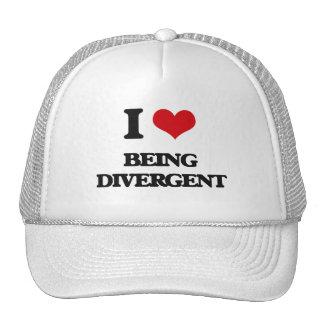 I Love Being Divergent Trucker Hats