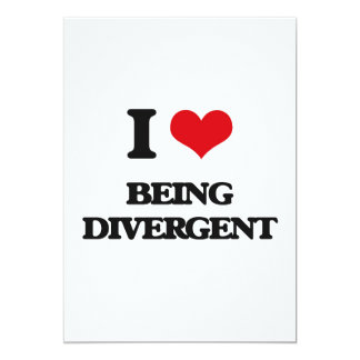 I Love Being Divergent Cards