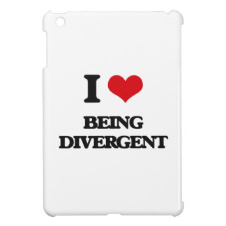 I Love Being Divergent iPad Mini Cover