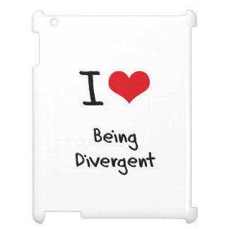 I Love Being Divergent iPad Cases