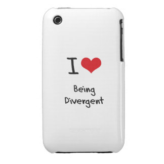 I Love Being Divergent iPhone 3 Cover