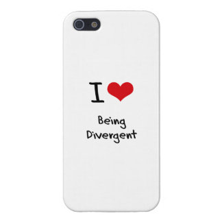 I Love Being Divergent Cases For iPhone 5