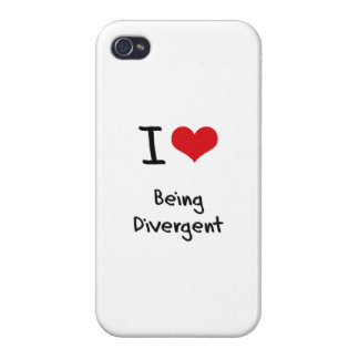 I Love Being Divergent iPhone 4/4S Case