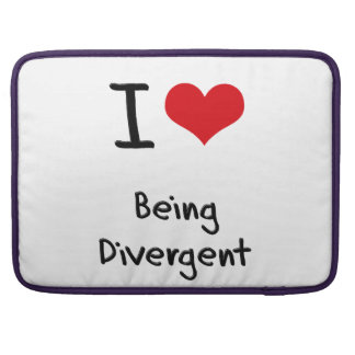 I Love Being Divergent Sleeves For MacBook Pro