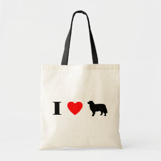 I Love Bernese Mountain Dogs Bag